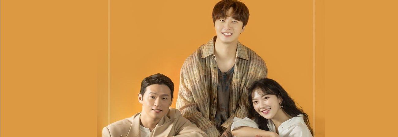 Jung Il Woo, Kang Ji Young y Lee Hak Joo comparte antes del final de Sweet Munchies