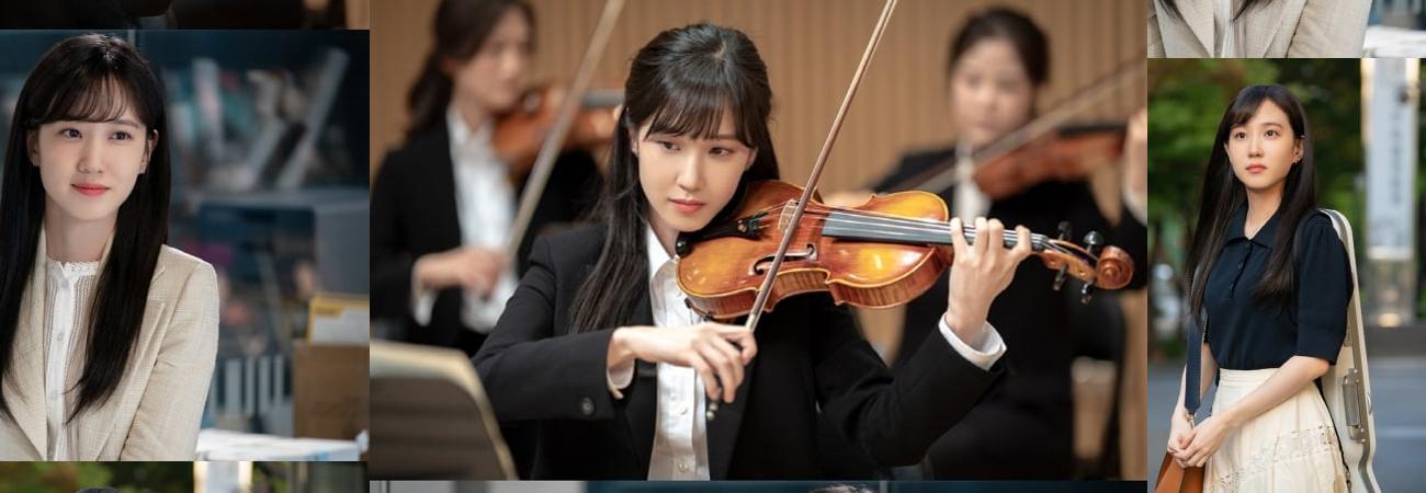Park Eun Bin es una violinista en Do You Like Brahms?
