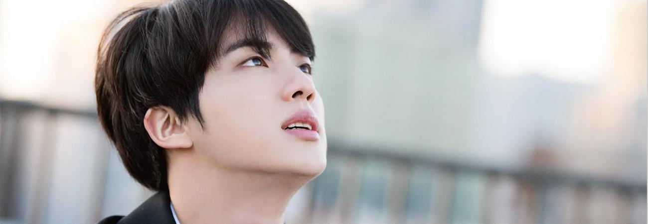 MOON de Jin de BTS logra el primer lugar en Itunes