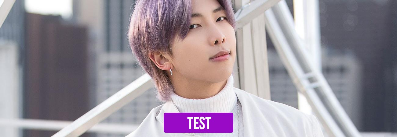 TEST: ¿Qué tanto sabes de Kim Namjoon RM?