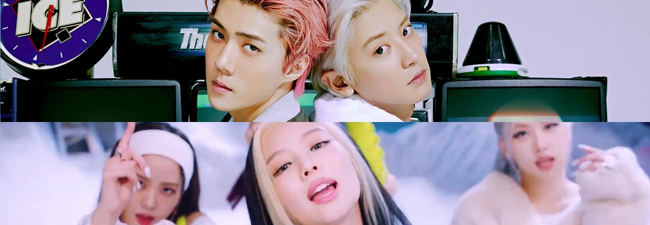 BLACKPINK y EXO-SC se apoderan de las listas de Gaon
