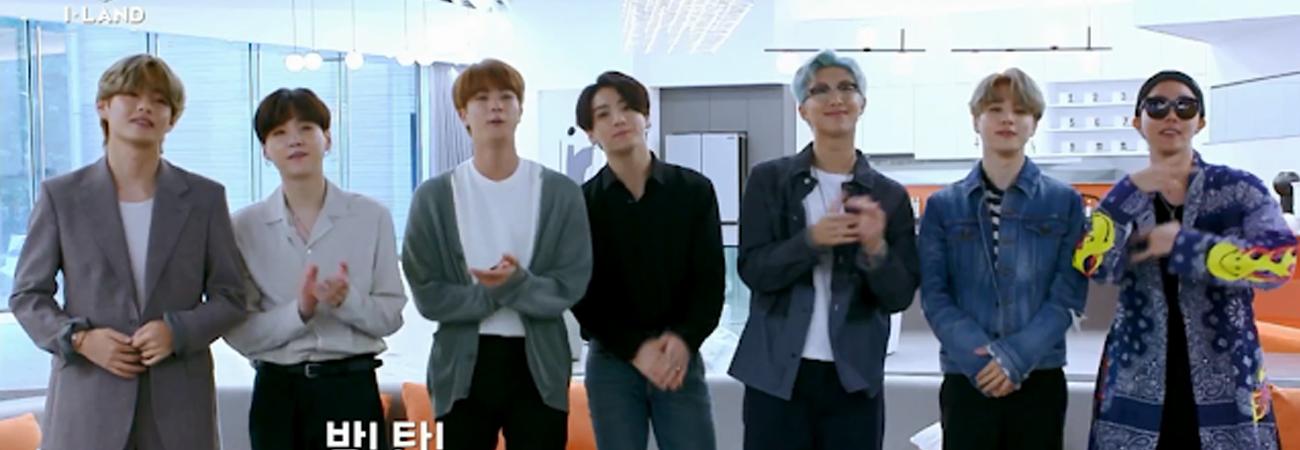 BTS recuerda viejos tiempos en I-LAND