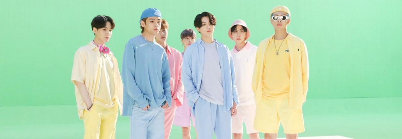 BTS enciende la pista con Dynamite tropical y poolside remix