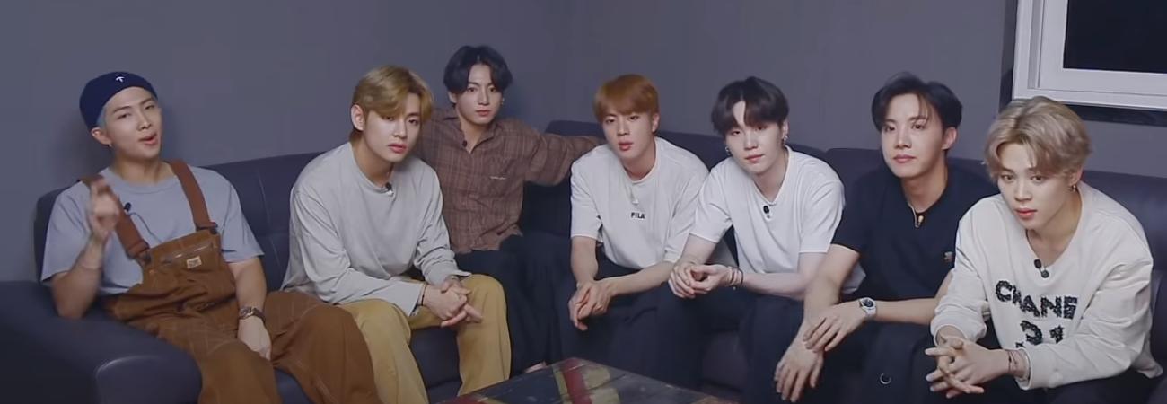 BTS elige sus mejores MV's