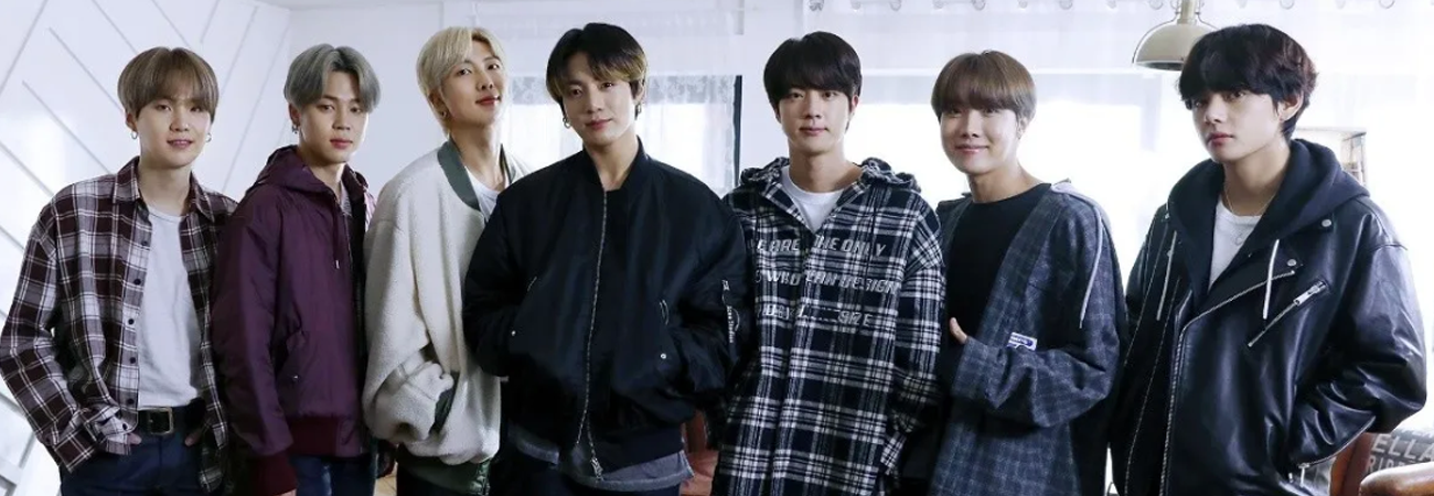 BTS recibirá el mayor honor que la Sociedad de Corea puede otorgar