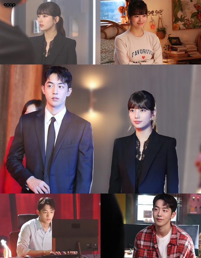 Descubre este detras de escena de Suzy y Nam Joo Hyuk en Start-Up