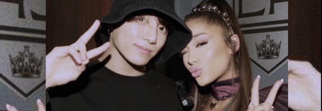 ¿Sera posible Jungkook de BTS hará colaboración con Ariana Grande?