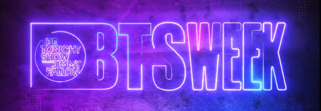 Tendremos una semana de BTS en The Tonight Show Starring Jimmy Fallon