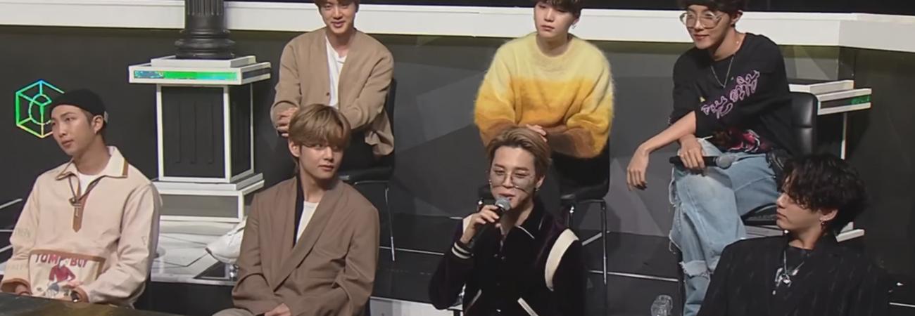 BTS aconseja a los finalistas de I-Land antes de su debut