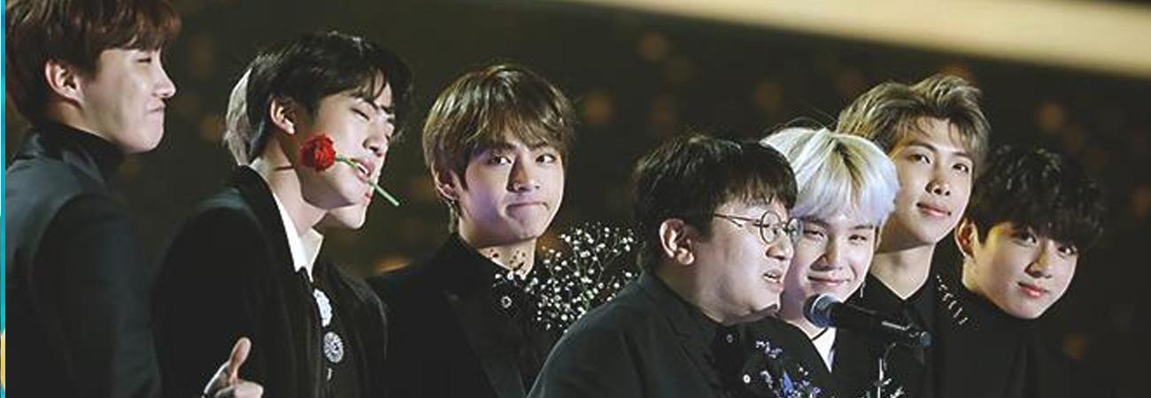 Bang Si Hyuk ayudo a BTS a convertirse en Accionistas de Big Hit Entertainment