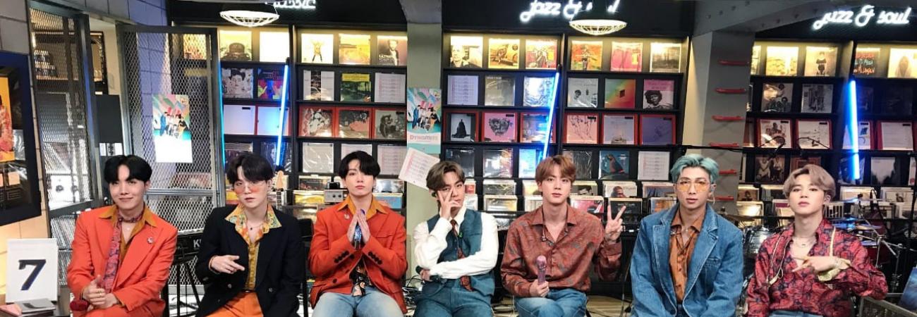 ¡El increíble set del concierto 'Tiny Desk' de BTS en realidad es una tienda!