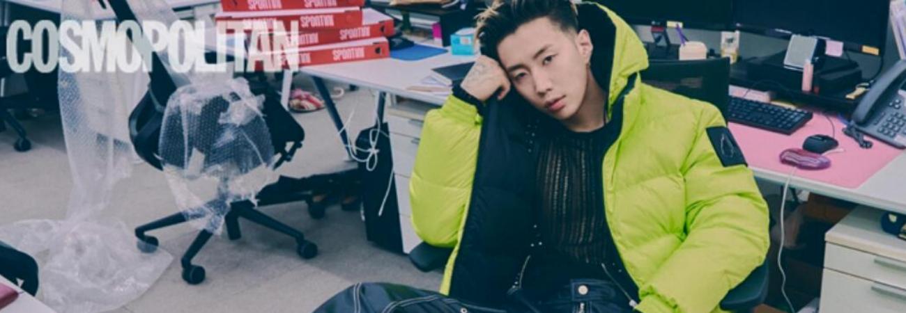 Jay Park participa en entrevista y sesión fotográfica para la revista Cosmopolitan