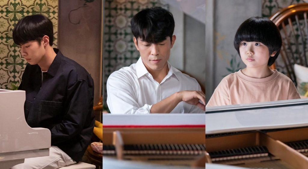 Go Ara reúne a Lee Jae Wook, Kim Joo Heon para su academia de piano en Do Do Sol Sol La La Sol