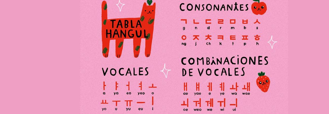 Lee en donde puedes aprender el idioma coreano