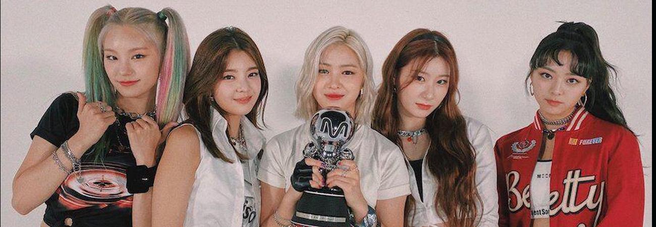 Cuarta victoria para ITZY con NOT SHY en el programa de Kpop M Countdown