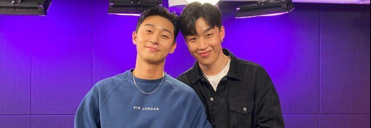 Vas a desear tener una amistad como la tienen Park Seo Joon y Peakboy