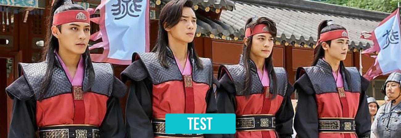 TEST: ¿Que caballero de Hwarang, es el amor de tu vida?