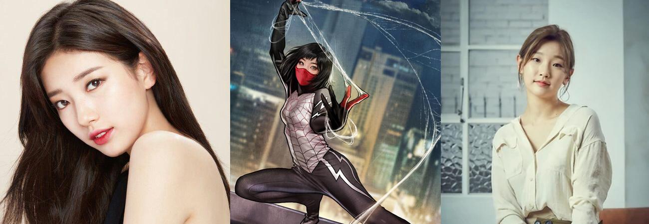 Bae Suzy y Park So Dam son las candidatas para interpretar a Silk de Marvel