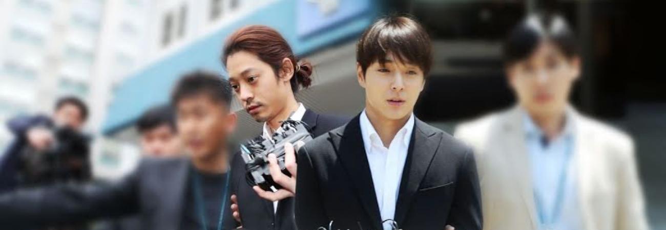 A sentença de Jung Joon Young e Choi Jonghoon foi reduzida por acusações de estupro em gangues