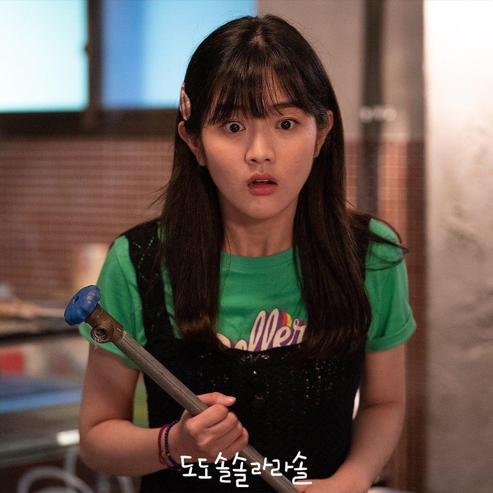 Goo La La, Jin Sook Kyung y Jin Ha Young viven bajo el mismo techo pero no en bueno términos en Do Do Sol Sol La La Sol