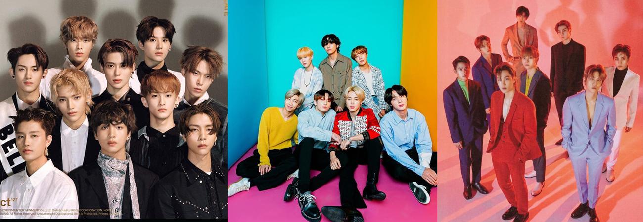 TS, EXO y NCT 127 se encuentran nominados para los 2020 American Music Awards