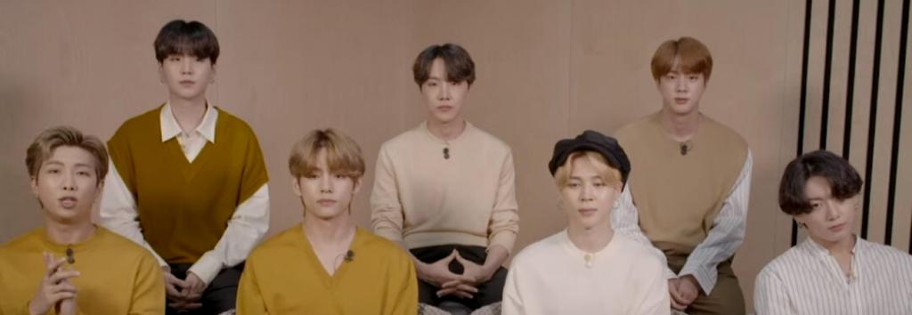 BTS recibe el premio ASIAN GAME CHANGER 2020 ¡Mira su emotivo discurso!
