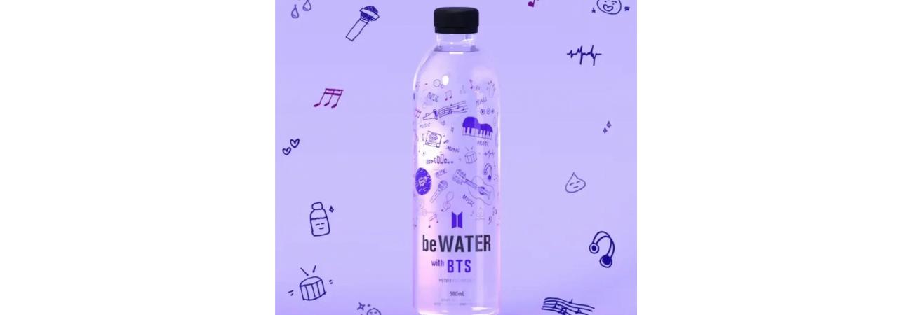 ¿Comprarías agua de la marca BTS? ¡Échale un vistazo a la nueva mercancía del grupo!