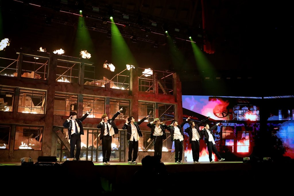 Los mejores momentos del concierto de BTS Map Of The Soul ON: E