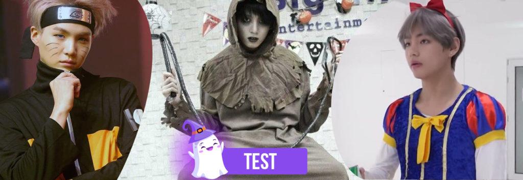 TEST: ¿Qué integrante de BTS ira contigo a la fiesta de Halloween y de que se disfrazan?
