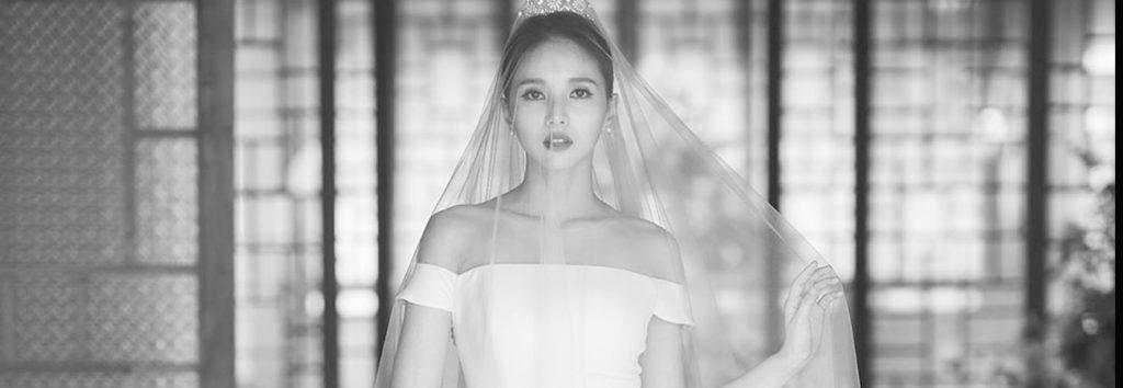 ¡Mira como se ve Jei de FIESTAR en su vestido de novia!