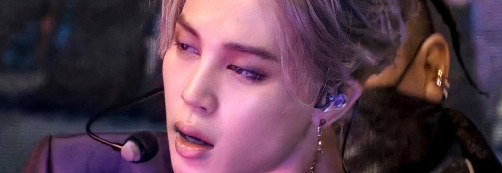 De rojo intenso a un morado elegante, Filter de Jimin de BTS  Map Of The Soul ON:E D2