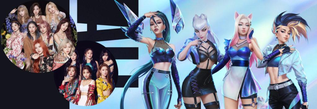TWICE & (G) I-DLEparticiparan en el primer mini álbum de K/DA de 'League of Legends'