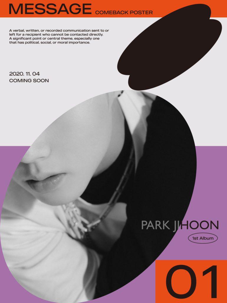 Aquí te decimos cuando Park Ji Hoon realizara su comeback en noviembre