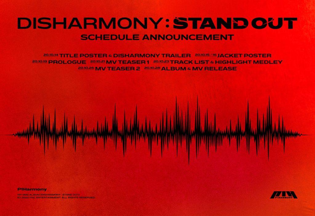 Conoce los detalles de debut para P1Harmony