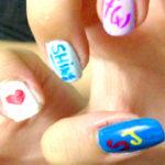 diseño de uñas de kpop