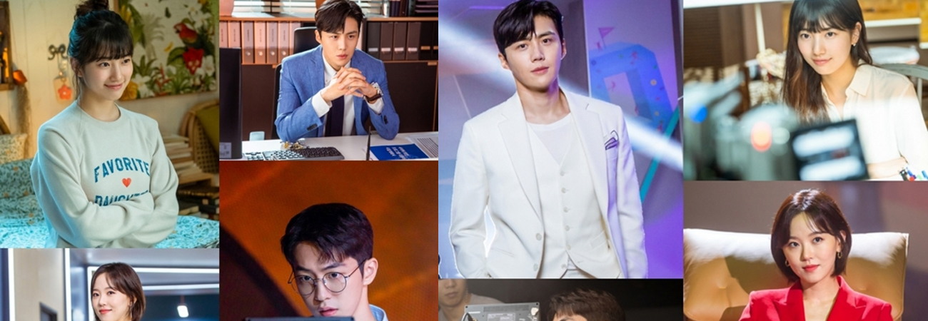 Descubre como es el detrás de escena de Suzy, Nam Joo Hyuk, Kim Seon Ho y Kang Han Na en Start-up