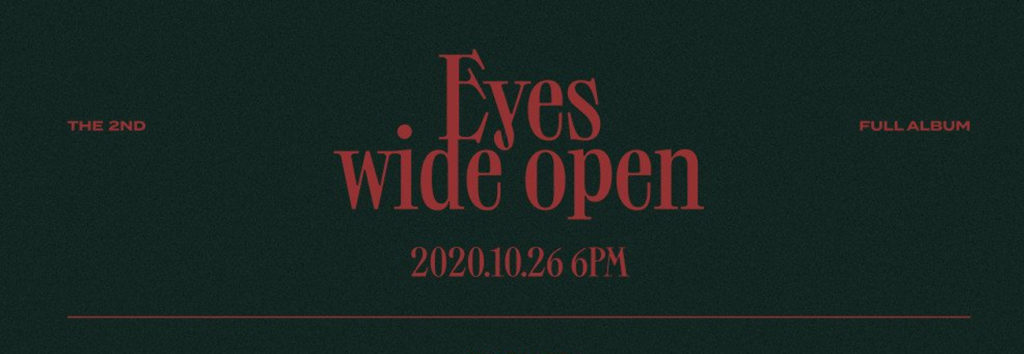 ONCE descubre el track list para Eyes Wide Open