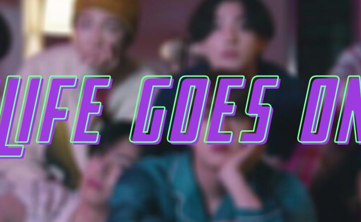 'Life Goes On' de BTS, letra en español