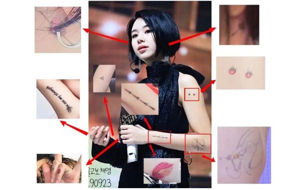 Netizens analizan los tatuajes de Chaeyoung de TWICE tras los rumores de relación con un tatuador