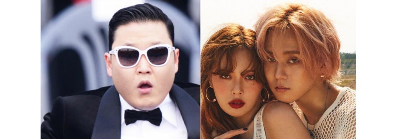 PSY reconoce 'la grandeza' de DAWN como novio de HyunA