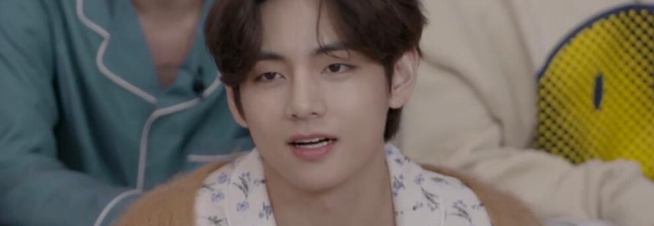 V de BTS revela que ha alcanzado el punto máximo de agotamiento