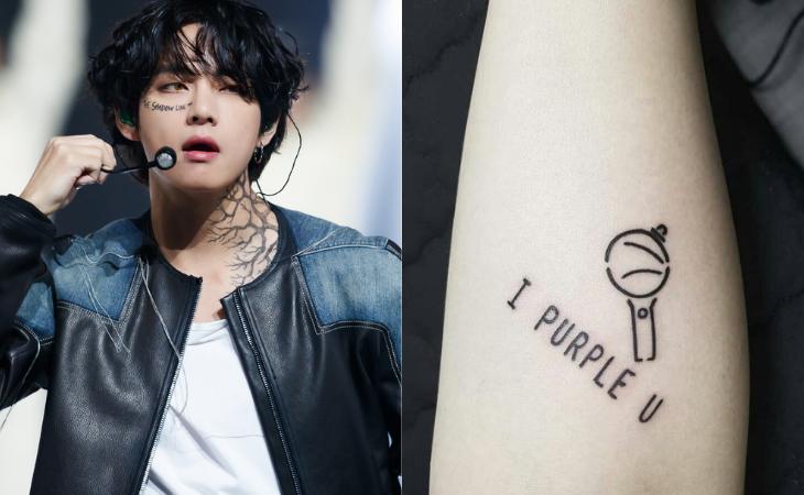 ¿Qué piensa V de BTS de los tatuajes de ARMY?