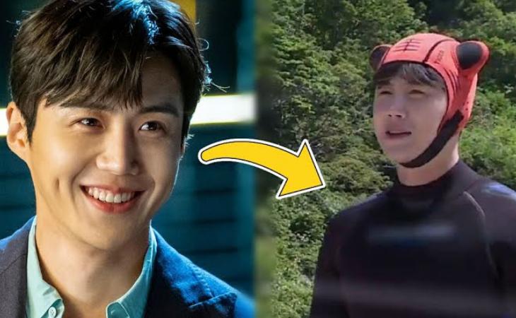 Fans reviven las imágenes de Kim Seon Ho usando un traje de neopreno en '2 Days & 1 Night'