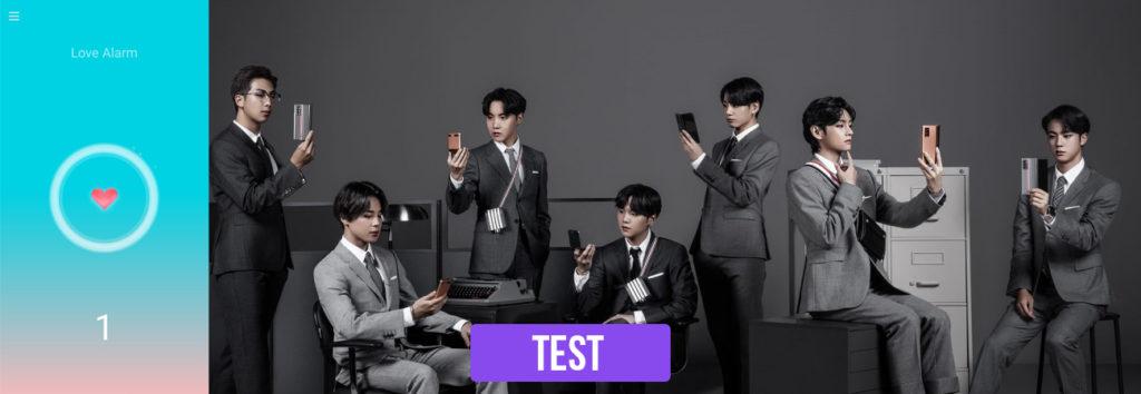 TEST: ¿Qué miembro de BTS haría sonar su Love Alarm?