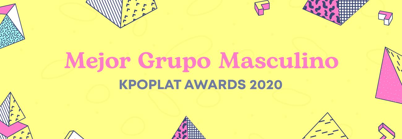 [KPOPLAT AWARDS 2020] Vota por 'Mejor Grupo Masculino'