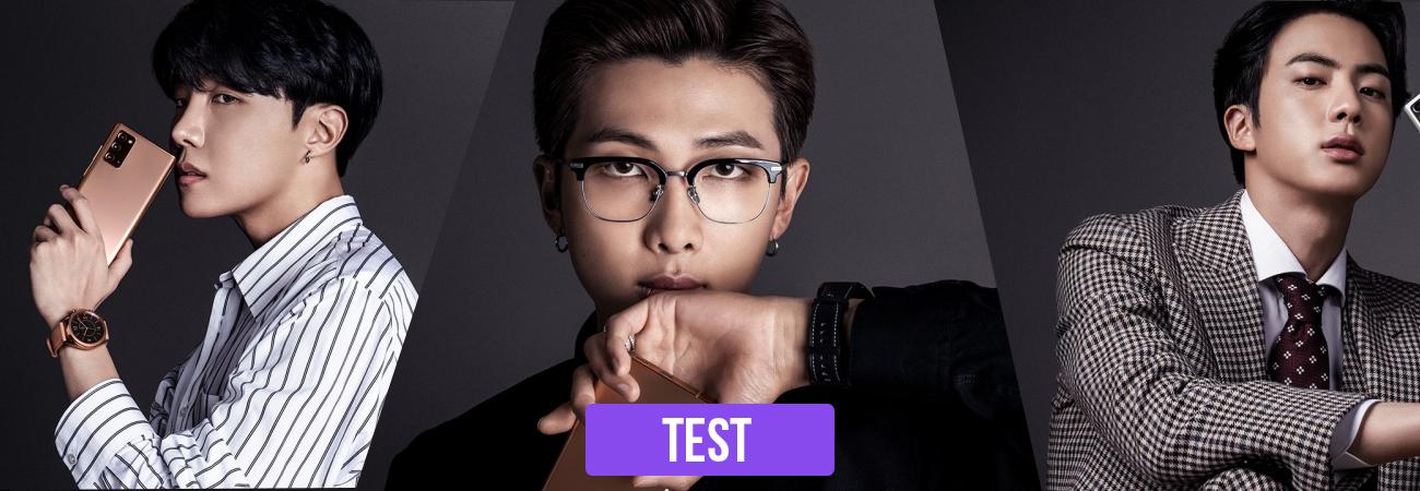 TEST: Quien será tu novio en el futuro ¿Jin, Rm O J-Hope?