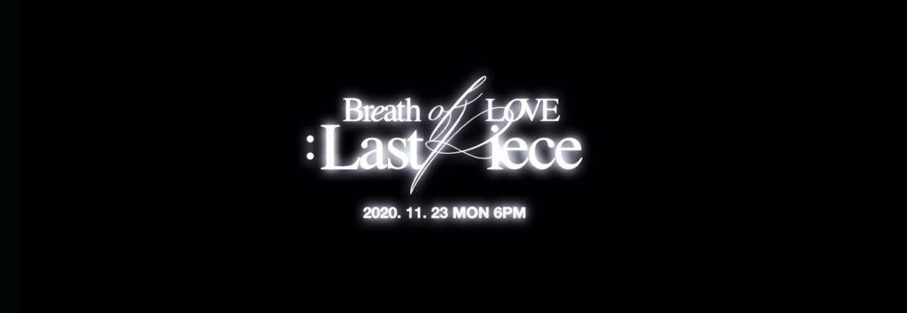 GOT7 revela el video teaser de Breath para su álbum Breath of Love: Last Piece