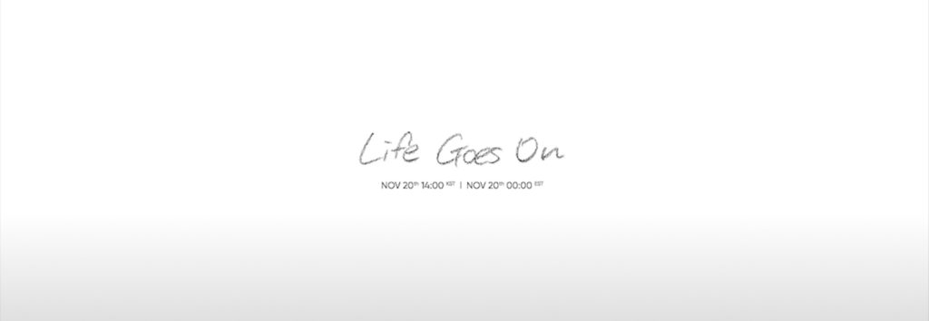 BTS lanza su segundo teaser para Life Goes On