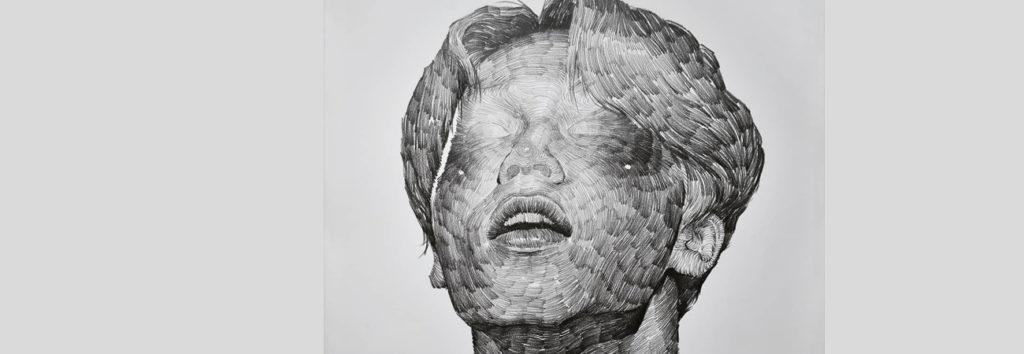 El artistaLee.K vuelve hacer una obra de arte con el rostro de Jimin de BTS