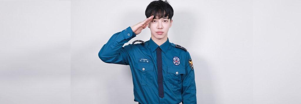 Kikwang de Highlight habla sobre su regreso del servicio obligatorio como oficial de policía reclutado